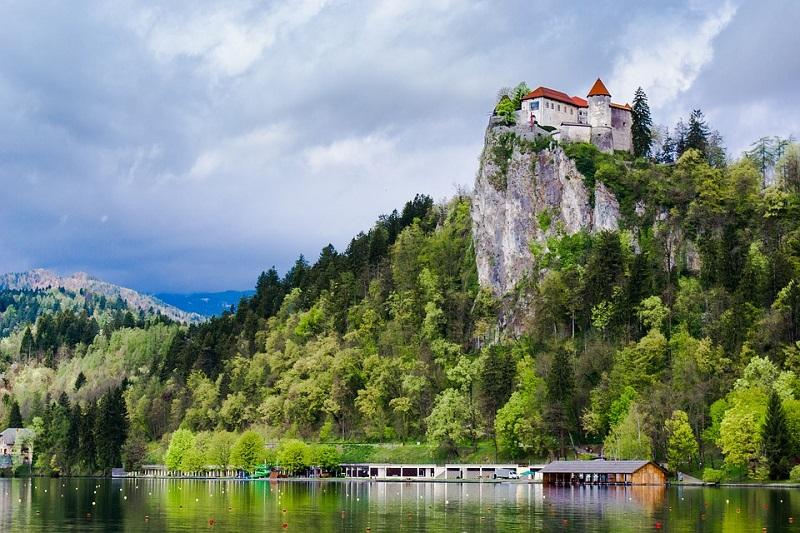 Blejski grad Slovenija