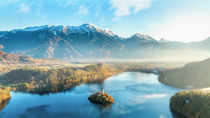 Blejski otok Slovenija