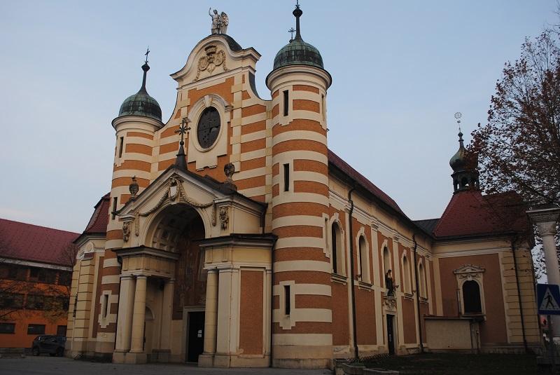 Cerkev Beltinci Slovenija