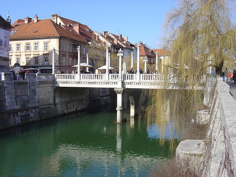 Čevljarski most Jože Plečnik Ljubljana