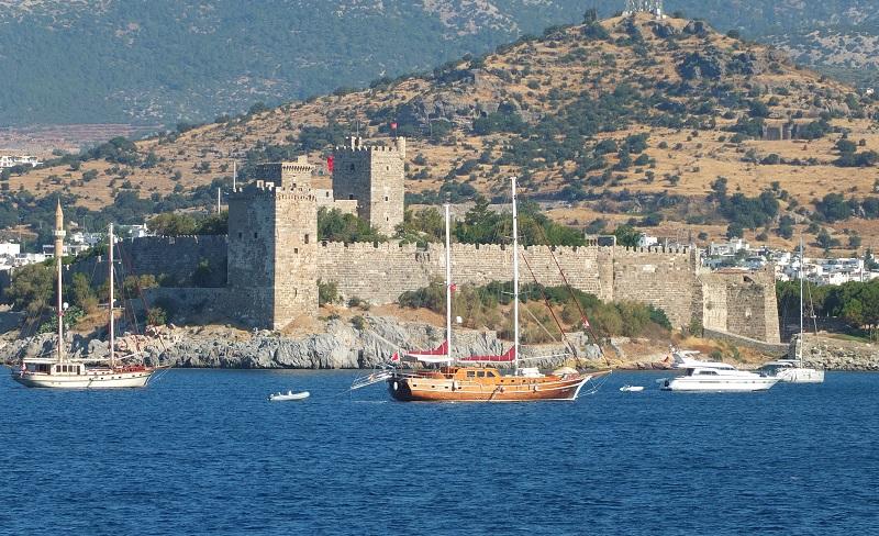 Grad Budrum Turčija