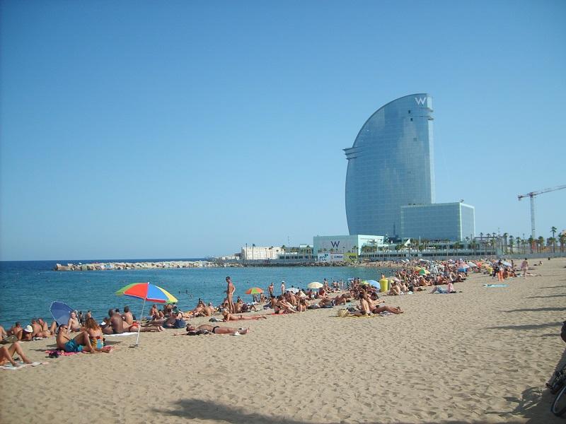 Plaža Barcelona Španija