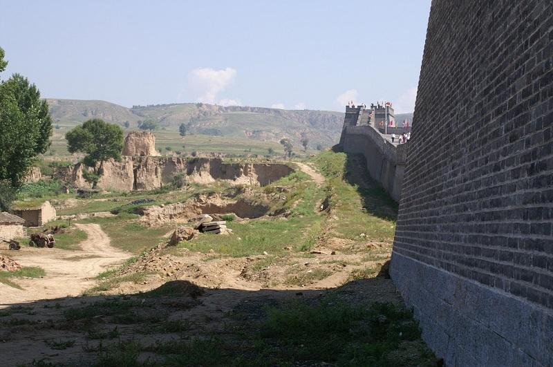 Veliki zid v notranjosti Mongolije